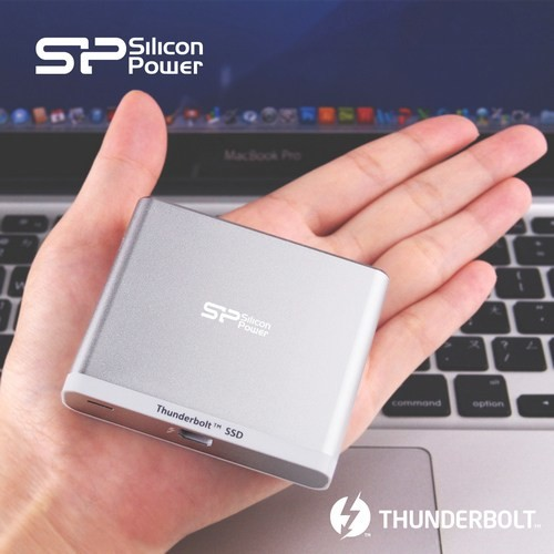 Накопитель Silicon Power Thunder T11 с интерфейсом Thunderbolt