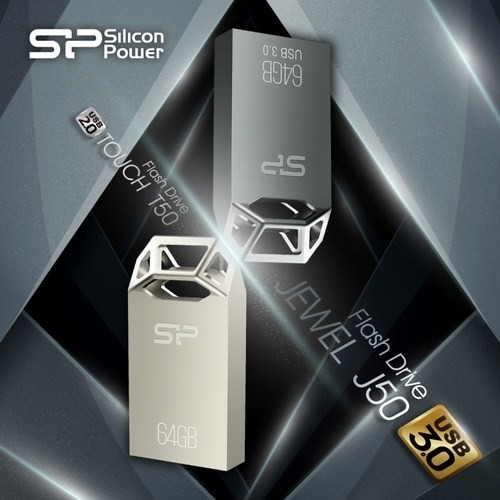 USB-накопители Touch T50 и Jewel J50 от Silicon Power