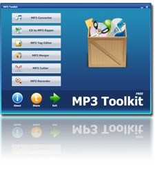 MP3 ToolKit: программа для работы с мультимедийными файлами
