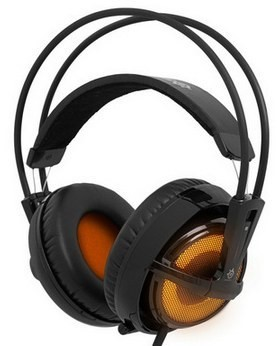 SteelSeries Siberia v2 Heat Orange - удобная гарнитура